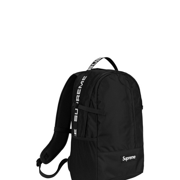 the latest 4585e 0b6fa SUPREME BACKPACK  SS18  BLACK
